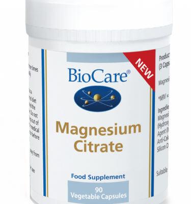 Magneesium tsitraat toidulisand