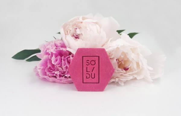 Solidu tahke šampoon Pink normaalsetele juustele