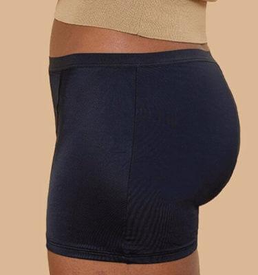 """Thinx aluspuksid menstruatsiooni ajaks_mudel """"Nagu meestel"""""""